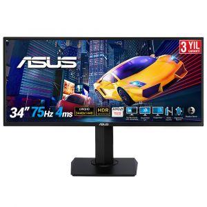 Asus VP348QGL 34'' UWQHD 3440 x 1440 4ms 75Hz Freesync HDR 10 Oyuncu Monitörü