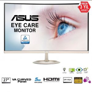 Asus VZ27VQ 27'' 5ms 75Hz Full HD FreeSync Kavisli Monitör
