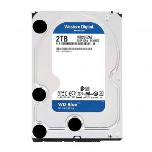 "Western Digital Blue WD20EZAZ 2TB 5400RPM Sata 3.0 64MB 3.5"" Sabit Disk"