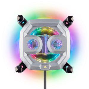 Corsair Hydro X Serisi XC9 RGB İşlemci Sıvı Soğutma Bloğu (2066/sTR4)