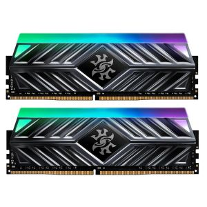 XPG Spectrix D41 16GB (2x8GB) 3000MHz DDR4 CL16 RGB Siyah Ram