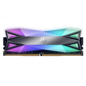 XPG Spectrix D60G 8GB 3000MHz DDR4 CL16 RGB Tungsten Gri Ram