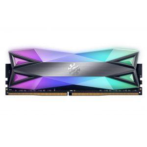 XPG Spectrix D60G 8GB 3600MHz DDR4 CL17 RGB Tungsten Gri Ram