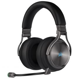 Corsair Virtuoso SE HI-FI RGB Metalik Gri Kablosuz Oyuncu Kulaklığı