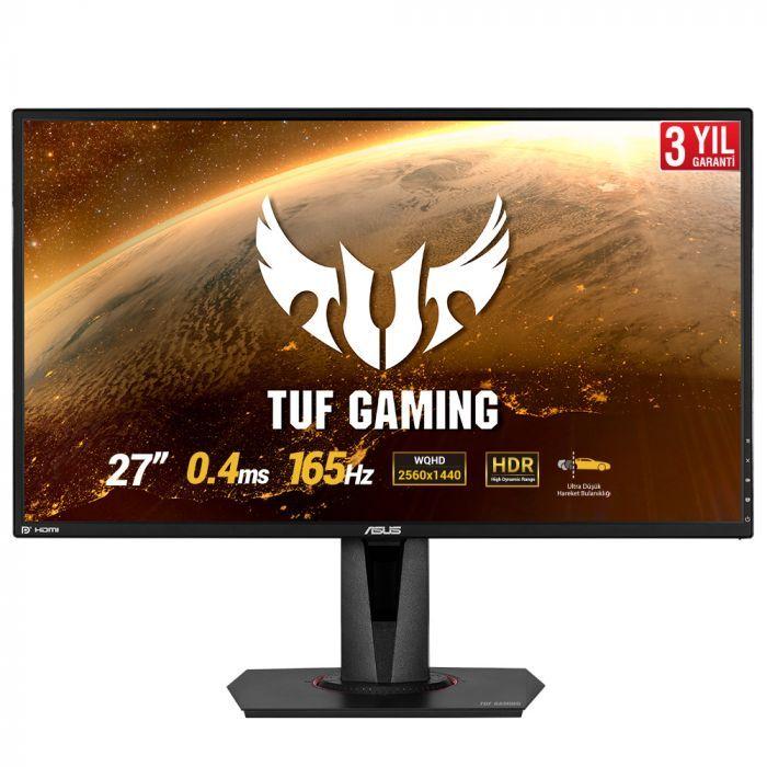 Asus TUF Gaming VG27BQ 27'' 0.4ms 165Hz WQHD G-Sync Uyumlu HDR10 Gaming Monitör