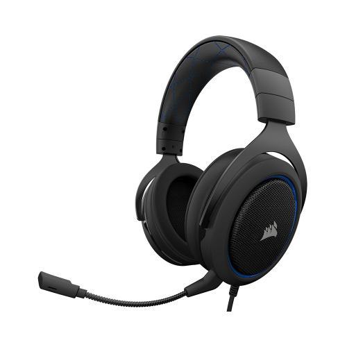 Corsair HS50 Stereo Oyuncu Kulaklığı Mavi